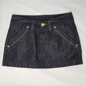 NWOT Express Denim Mini-Skirt